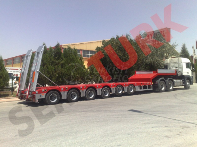 6 AXLES LOWBED SEMI-TRAILER