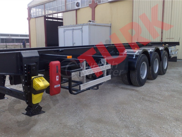 CHASSIS SEMI-TRAILER FOR TANK