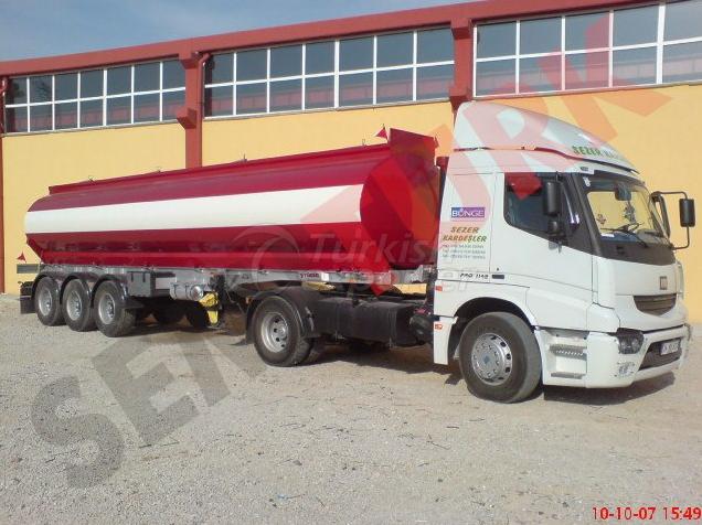 LPG GAS & OIL TANKER - 34000LT TANK