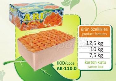 Sulphureous Dry Apricot AK 110 D 12.5kg