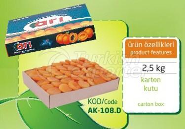 Sulphureous Dry Apricot AK 108 D 2.5kg