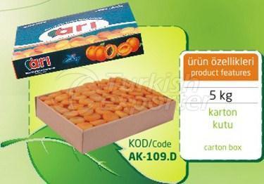 Sulphureous Dry Apricot AK 109 D 5kg