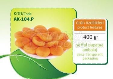 Sulphureous Dry Apricot AK 104 P 400gr