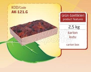 Dried Apricot AK 121G 2.5kg