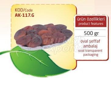 Dried Apricot AK 117 G 500gr