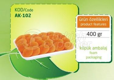 Sulphureous Dry Apricot AK 102 400gr