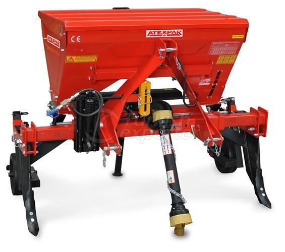 Hoe Machine With Fertilizer
