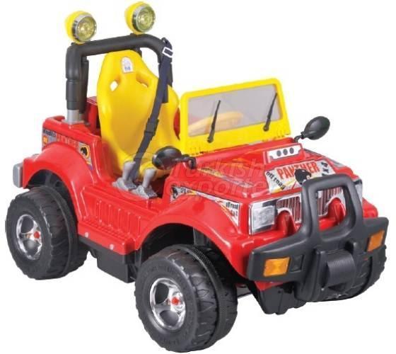 Car with Battery Panter