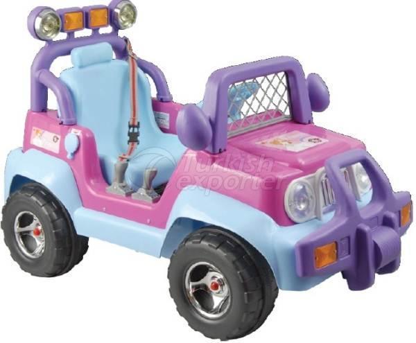 Car with Battery Princess