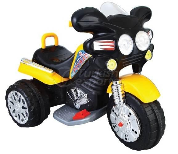 Motorcycle with Battery Poyraz