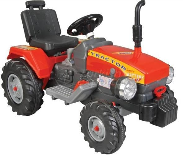 Tractor with Battery Super