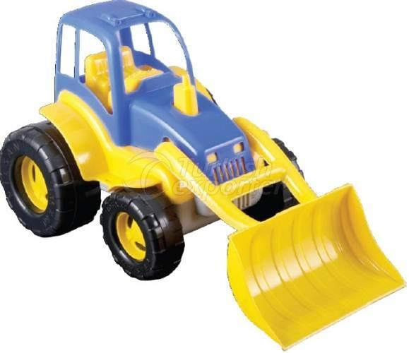 Tractor with Ladle