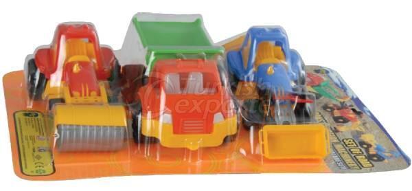 Road Construction Machinery Set