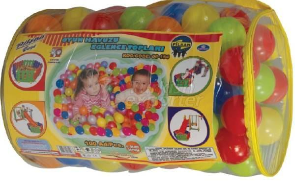 Play Pool Balls 100 Pieces