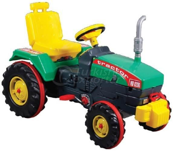 Tractor with Pedal Chained