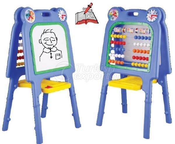 Abacus with Blackboard