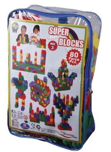 Super Blocks No3 80 Pieces