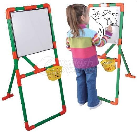 Blackboard with 3 Base Support
