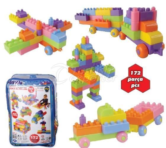 Intelligence Blocks No3 172 Pieces