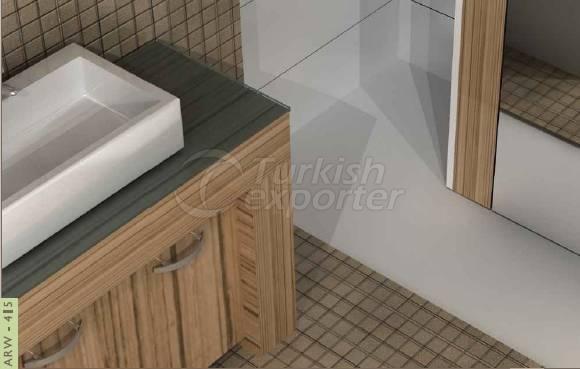 Bathroom Cabinets ARW-415