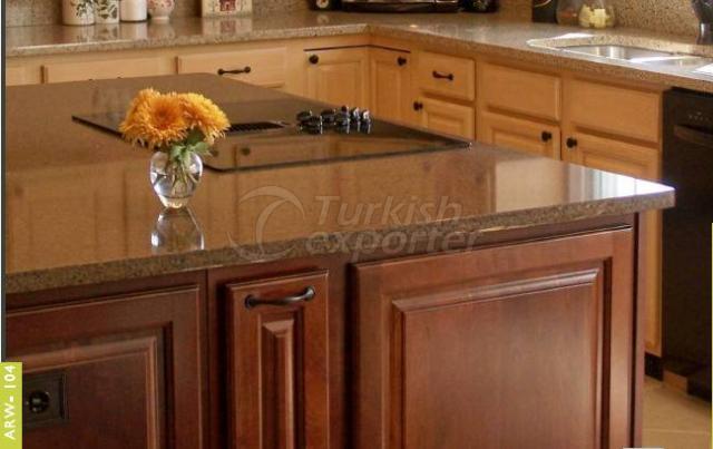 Kitchen Cabinets ARW-104