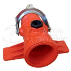 Pe Clamp On Fittings-Abot