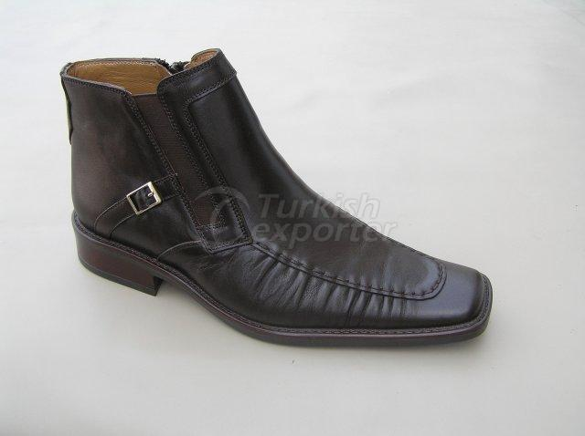 Men Boot Winter Season Thermo Base with Handwork Shirred