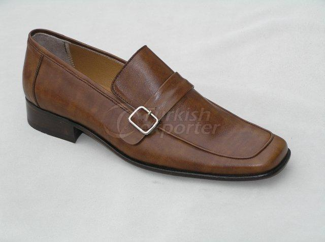 Men Shoe Summer Season Stout Leather Base with Buckle
