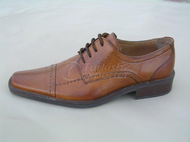 Men Shoe Summer Season Stout Leather Base with Knitting