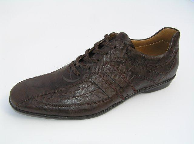 Men Shoe Summer Season Sport Rubber Base Antique Pattern