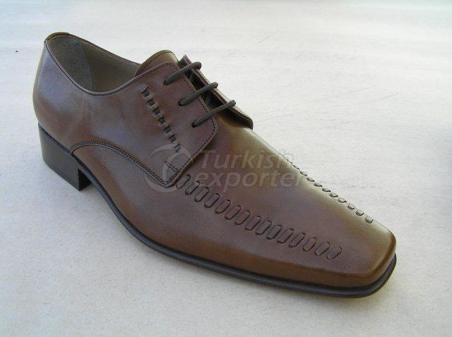 Men Shoe Summer Season Stout Leather Base with Handwork Knitting