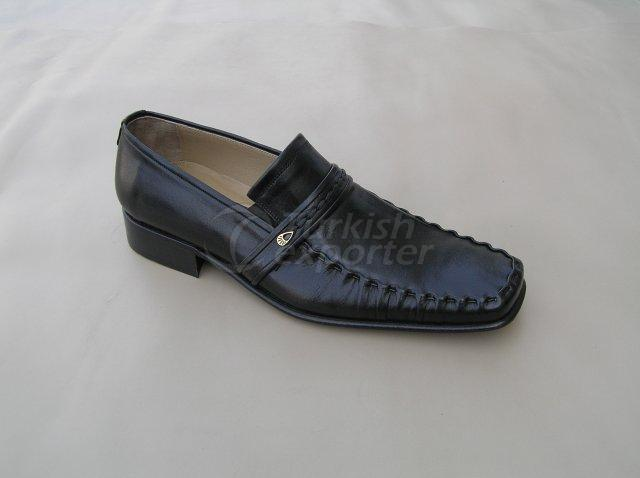 Men Shoe Summer Season Stout Leather with Buckle