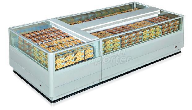 Island Frozen Cabinets Pelopia