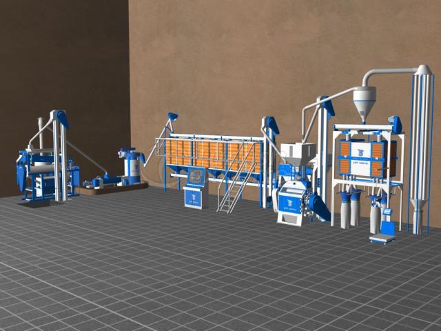 Mini Flour Mills CK11