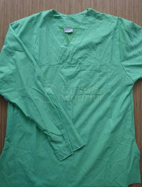 Antistatic Coats For Medical