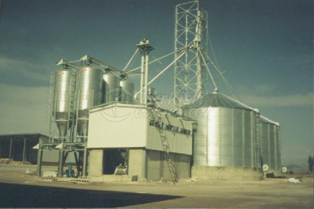 Feed Mill Factory Grain Storage Systems