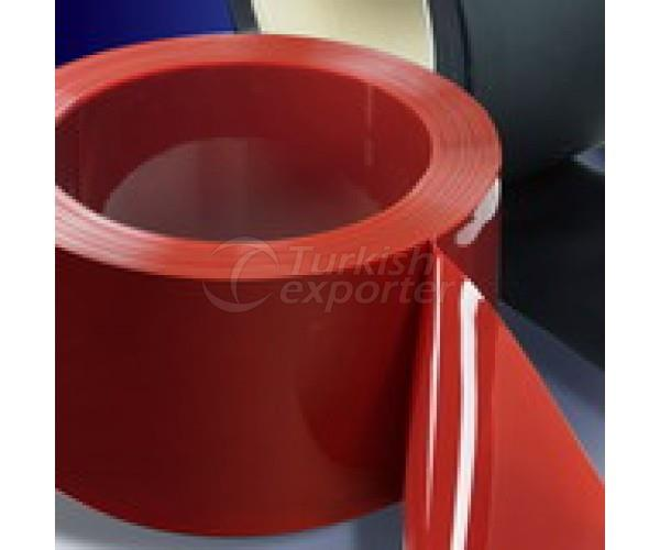 PVC Strip Curtain Schwei DFer Rollen