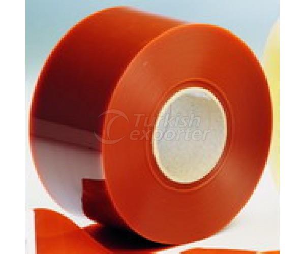 PVC Strip Curtain Orangestrip