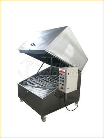 Rotating Basket Washing Machine with Hot Water 1250