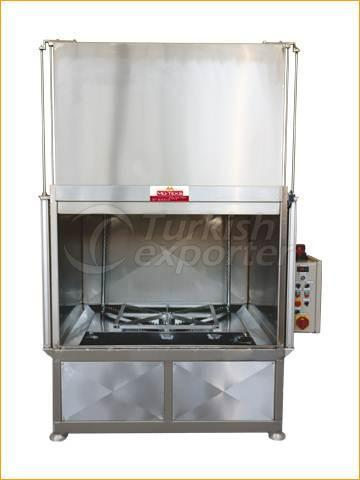 Rotating Basket Washing Machine with Hot Water 1500