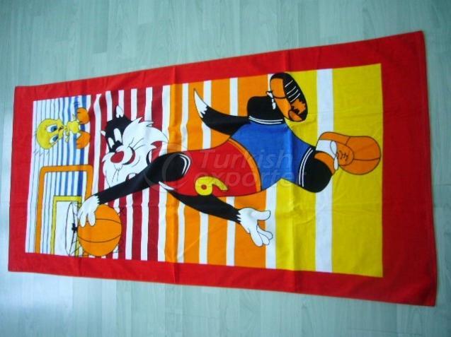 Printed Beach Towels MTX702