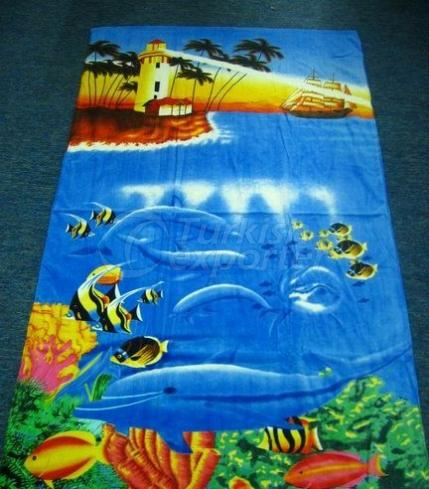 Printed Beach Towels MTX703