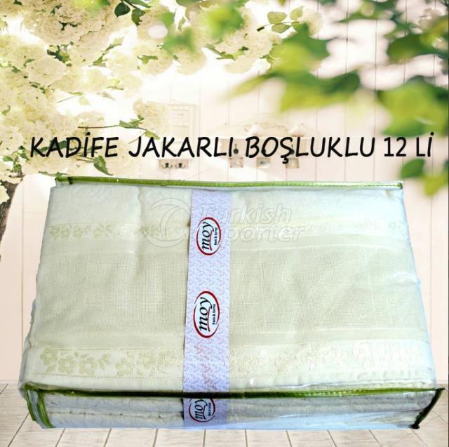 Dowry Towel Velvet Jacquard
