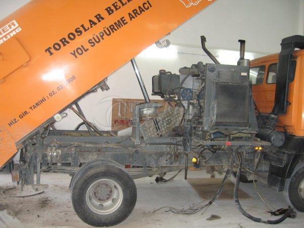 Road Sweeper Maintenance