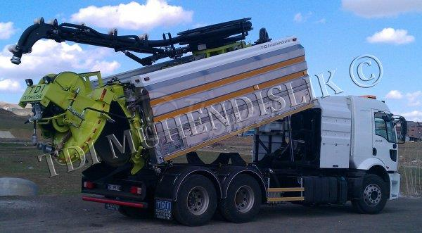 Sewer Cleaning Truck CS Series