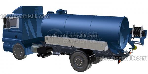 Sewer Jetting And Vacuum Truck