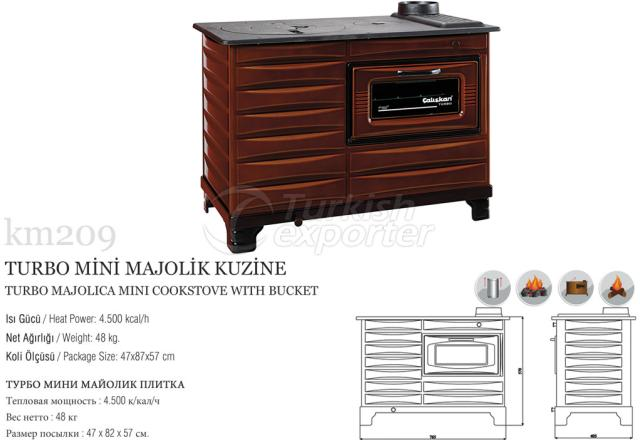 Turbo Majolica Cookstove km2092