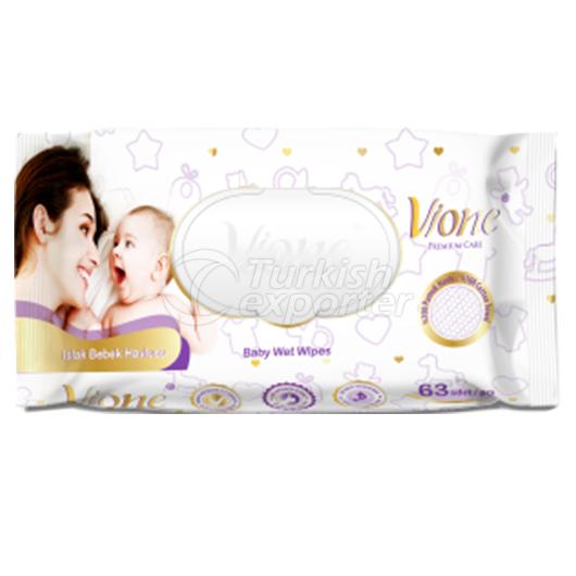 Baby Wet Towels Vione