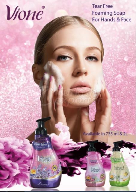 Vione foaming soap