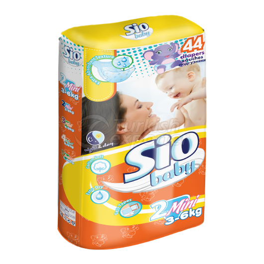 Baby Diapers Sio 3-6 kg